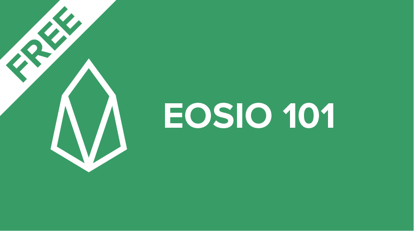 EOSIO-FREE Introduction to EOSIO for Developers Cover Image