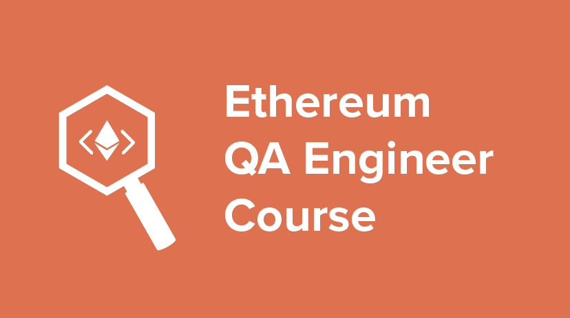 ETH-QA-1 Ethereum QA Engineer Course Cover Image