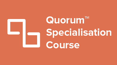 QSE-X Quorum Specialisation Course Cover Image